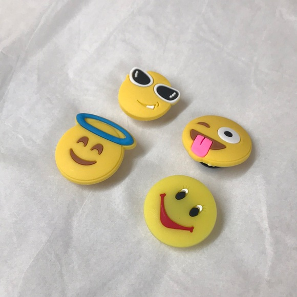 Emoji Crocs Jibbitz | Poshmark